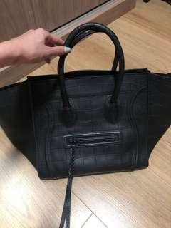 Celine Phantom Croc Embossed