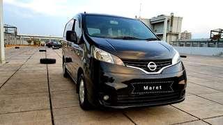 Nissan Evalia 1.5 XV Automatic 2012