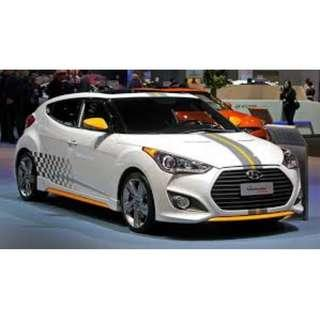 HYUNDAI VELOSTER 1.6A FOR LEASING