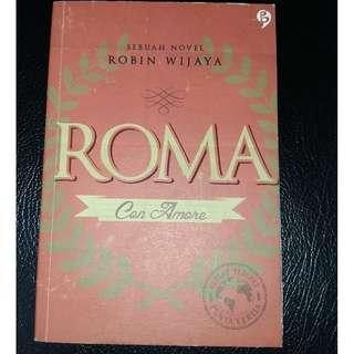Novel Roma: Con Amore by Robin Wijaya