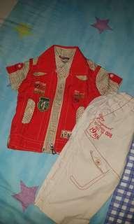 In Stock 3pcs Set Boy Outwear 12M-18M