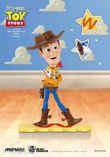 Disney 迪士尼 toy story 反斗奇兵 3 figure 擺設 toystory 胡迪 woody