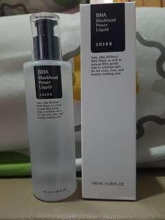 Cosrx bha blackhead powder liquid toner