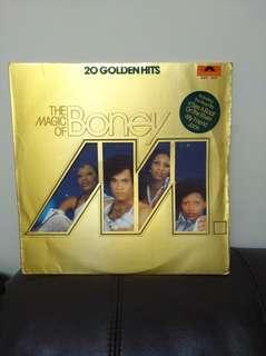 80年Boney M lp黑膠唱片