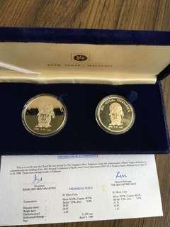 E147 - Malaysia 1986 PATA Proof Coin Set