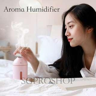 FREE DOORSTEP DELIVERY! FREE ESSENTIAL OIL! USB Aroma Humidifier and Diffuser. Portable and Compact. Suitable as Gifts or Presents