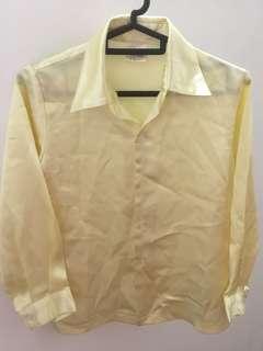 Free mail! Yellow blouse