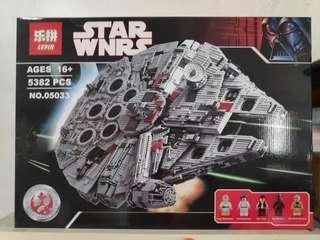 Lepin 05033 star wars credit card accepted