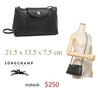 4efcd7ae9 READY STOCK authentic new LONGCHAMP LE PLIAGE CUIR CROSS BODY / shoulder  bag Full leather series