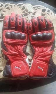 Puma full gloves xxl