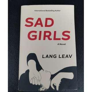 Novel Sad Girls by Lang Leav (English)