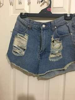 Size 12/ new/ ripped jeans