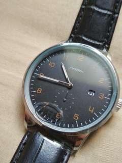 Sinobi Quartz Watch (Minimalist, Bauhaus-Inspired)