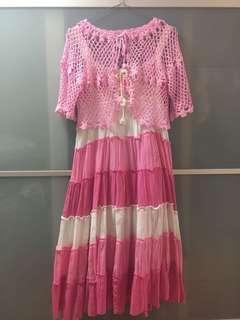 Flowy Pink Dress