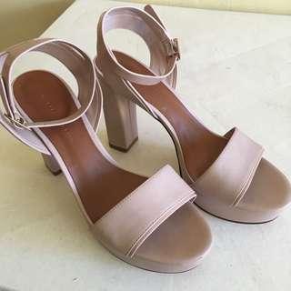 Charles & Keith Chunky heels