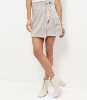 New look suede mini skirt