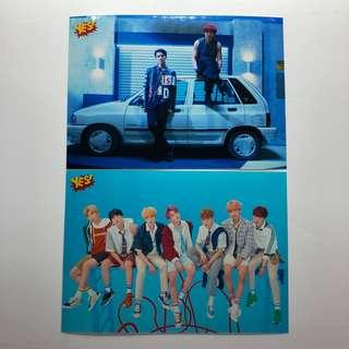 BTS EXO Yes! Card 第42期 5R相