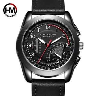 Hannah Martin Men's Analogue Casual Sports Watch