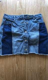 NEW Cotton On Denim Skirt