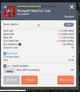 MAPLESTORYM (EMB MYTHIC) muspell hat