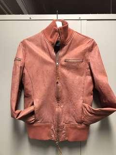 Earl jeans Leather Jacket 皮褸