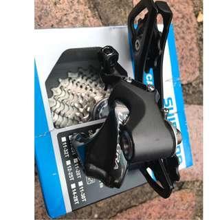 Shimano 6800 Ultegra Rear Derailleur / 5800 11-28T Cassette