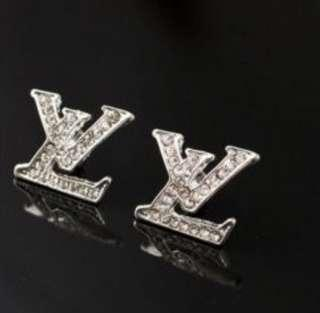 Inspired lv earrings