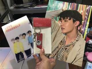 BTS summer package poster/ BTS ly tour keyring/ BTS lenticular file