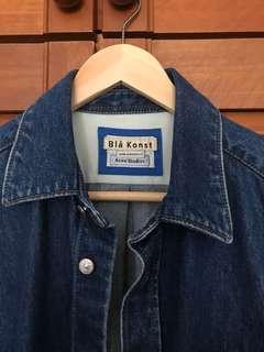 BNWT Acne Studios Bla Konst denim shirt (Size 46/M)