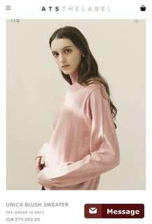 ATS The Label Unica Blush Sweater