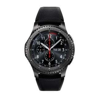 【拆封新品】【穿戴裝置】三星 Samsung Gear S3 Frontier 智慧型手錶 防水防塵 觸控錶面 盒裝