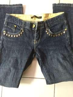 Studded  Pencil Jeans