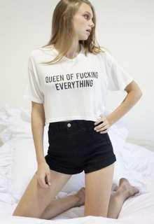 brandy melville trina queen of everything top