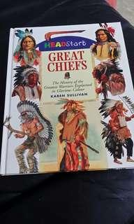 Great chiefs- The history of the greatest warriors explained in glorious colour