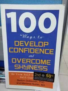 100 Ways to Develop Confidence and Overcome Shyness