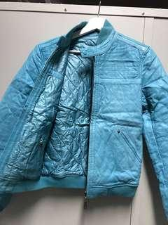 Diesel leather jacket both sides 雙面皮䄛