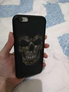 preloved 3D skull iPhone 6 case