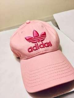 🚚 🔺adidas 粉紅甜心款🔺8成新鴨舌帽 -女帽