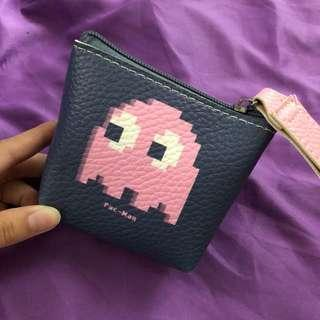pacman coin pouch