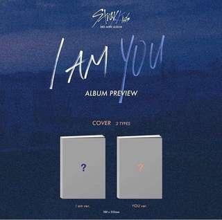 STRAYKIDS 3rd Mini Album- I Am You Version: (I Am/ You)