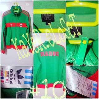 Preloved Vintage Adidas Maroc(Morroco) Jacket