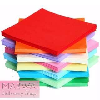 500pcs Origami Paper Craft