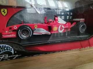 Limited Edition Hot Wheels F1 Ferrari Michael Schumacher Model
