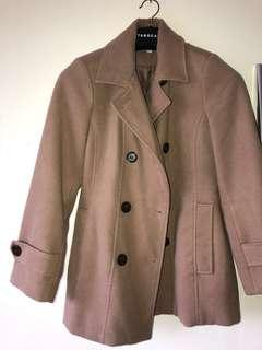 Size 10 brown Millers coat