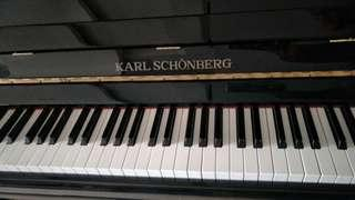 Karl Schonbery Piano, Exam piece for Sale!