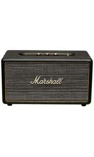 Sealed New Marshall Stanmore (Black) Bluetooth Speaker