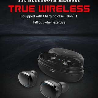 Sports Wireless Bluetooth Waterproof Earphone Earbud With Charging Case