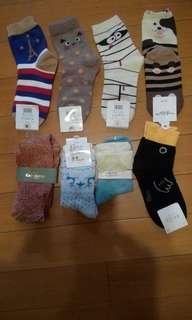 女裝 長襪 短襪 Sock $15/2對
