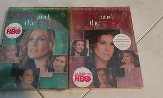 Sex And The City Season Six DVD boxsets part 1 and 2