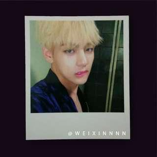 WTS BTS Wings Album V Photocard
